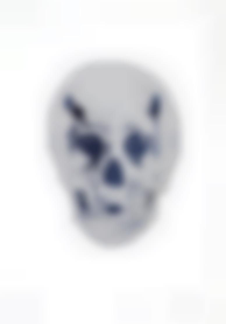 Damien Hirst-The Dead (Silver Gloss/Westminster Blue Skull)-2009