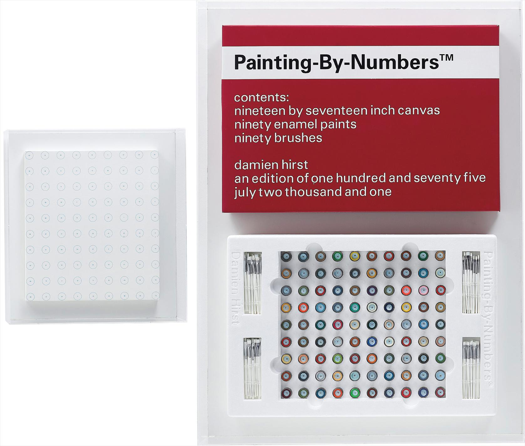 Damien Hirst-Painting-By-Numbers-2001