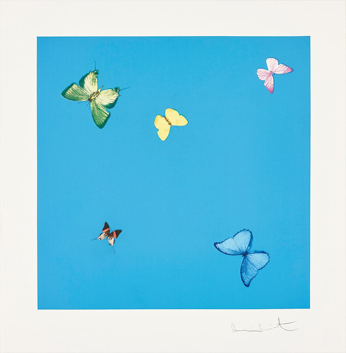 Damien Hirst-A Dream, From Love Poems-2014
