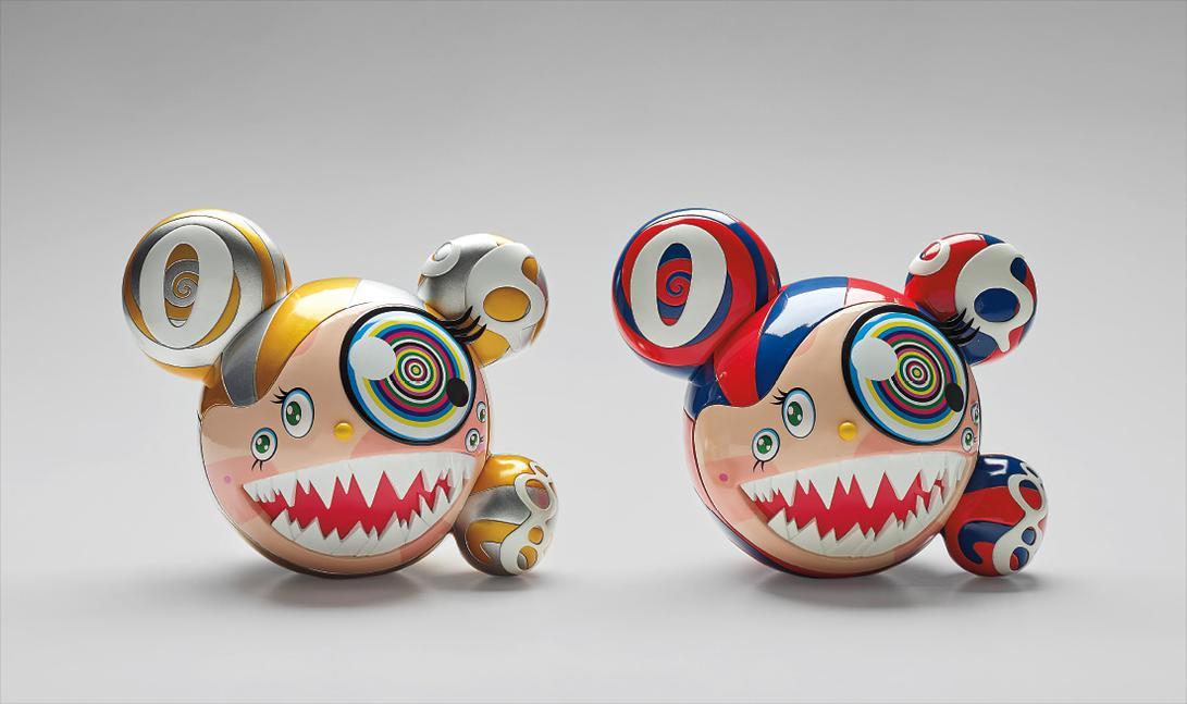 Takashi Murakami-Complexcon: Mr. Dob (Red/Blue); And Complexcon: Mr. Dob (Gold)-2016