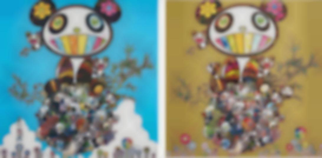 Takashi Murakami-Family Happiness; And Panda Family-2016