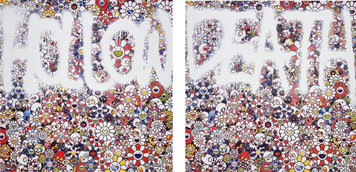 Takashi Murakami-Flower Hollow; And Death Flower-2015