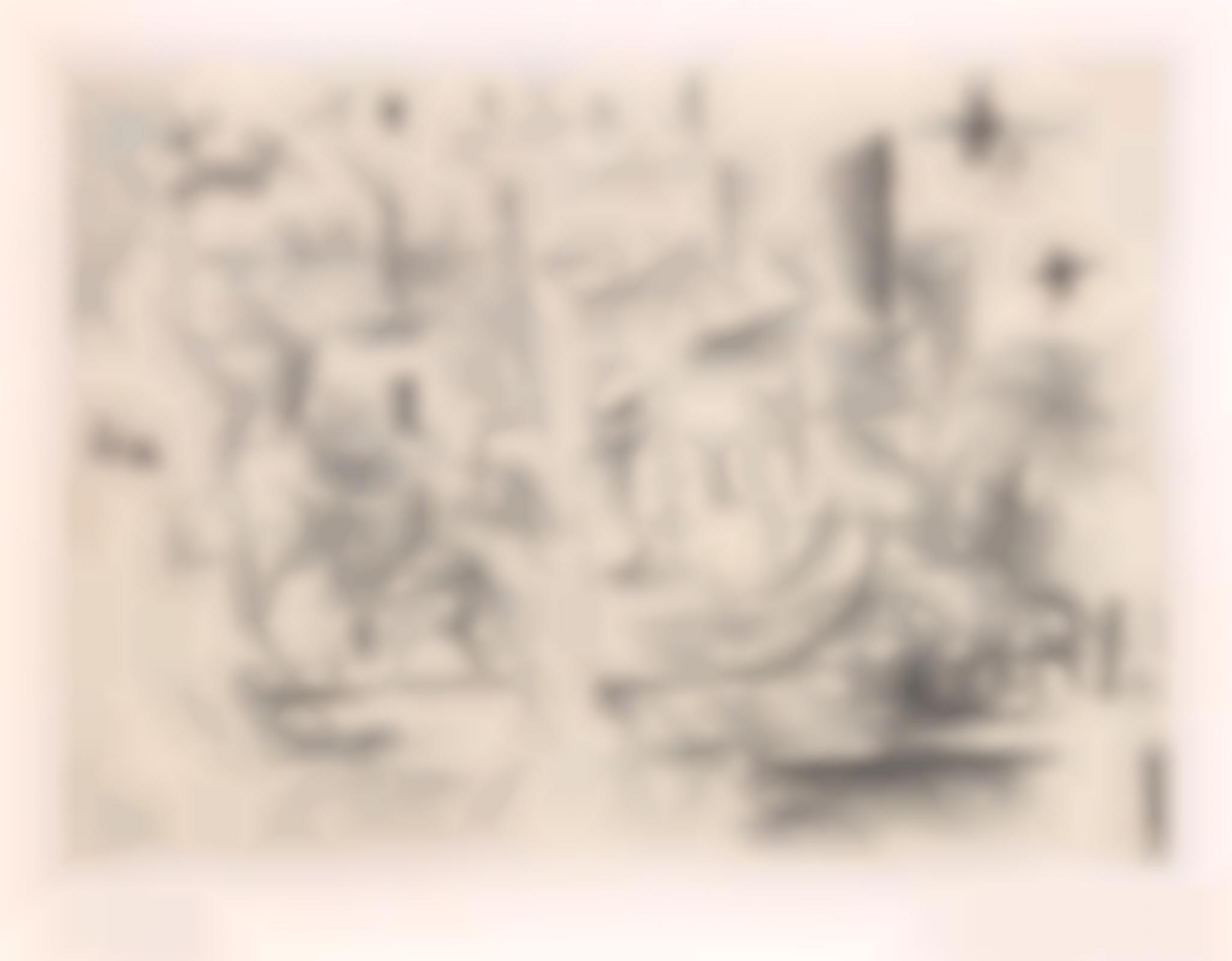 Georges Braque-Paris (Paris 1910 Ou Nature Morte Sur Une Table) (Paris 1910 Or Still Life On A Table)-1954