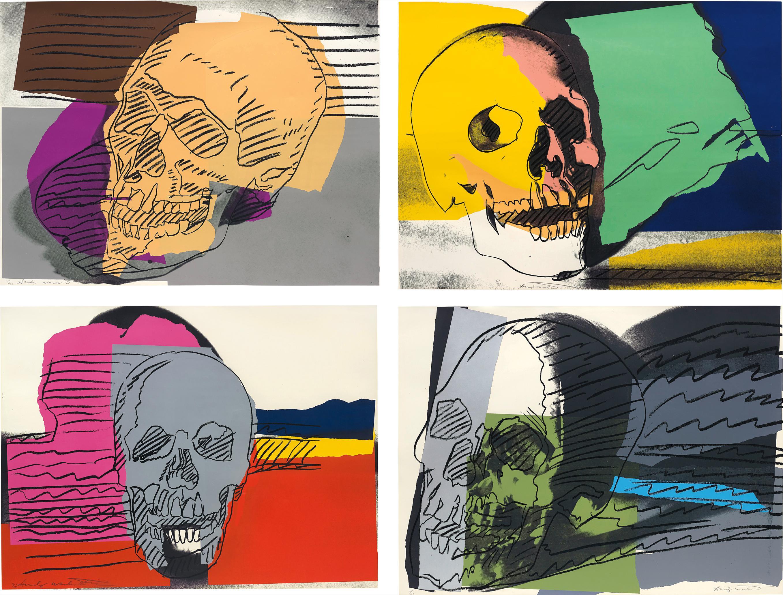 Andy Warhol-Skulls-1976
