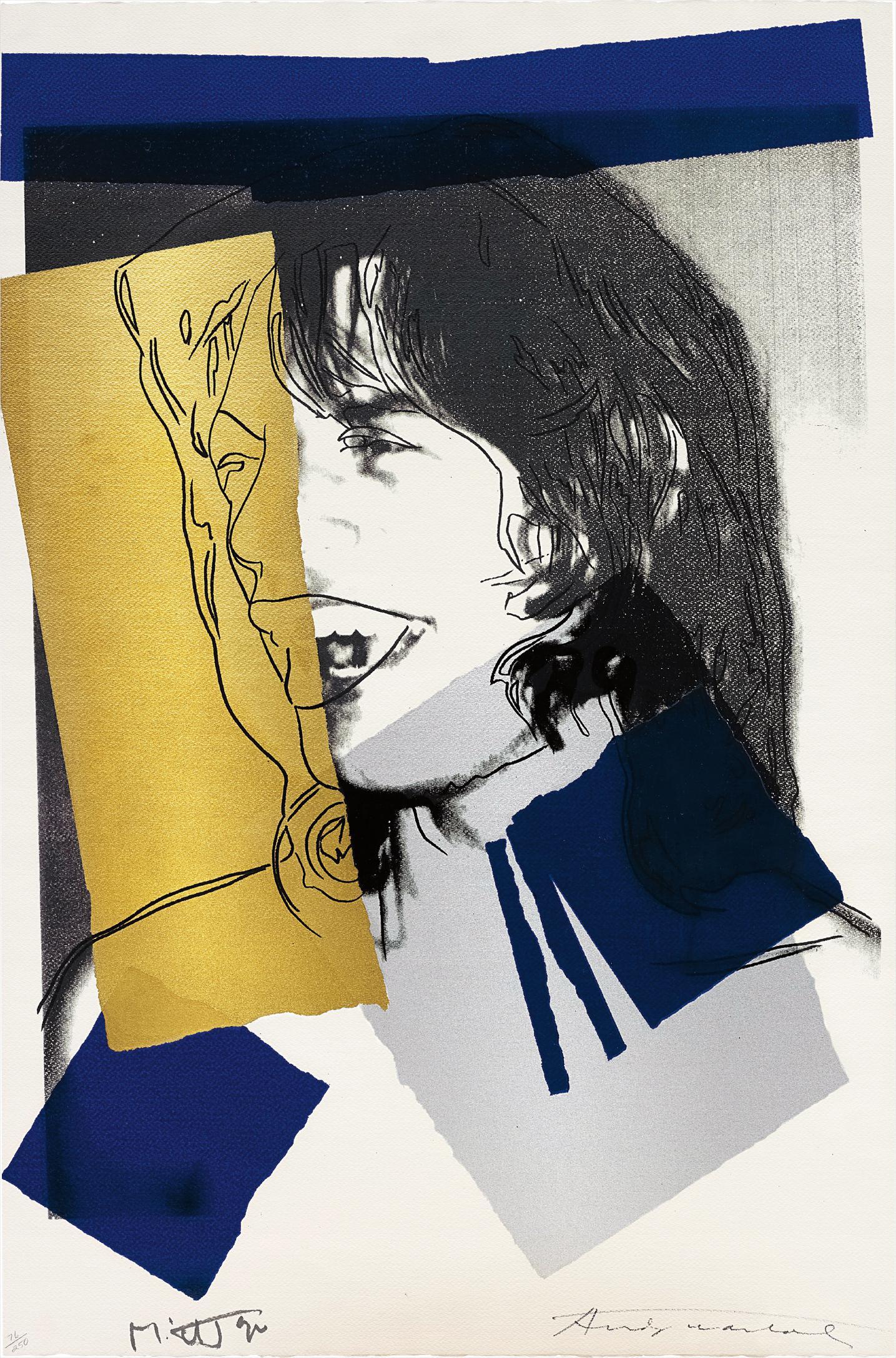 Andy Warhol-Mick Jagger-1972
