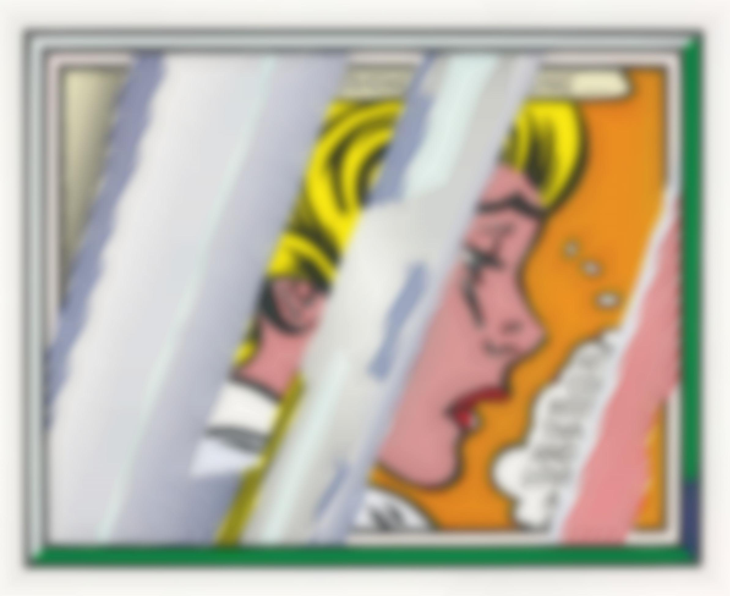 Roy Lichtenstein-Reflections On Girl, From Reflections Series-1990