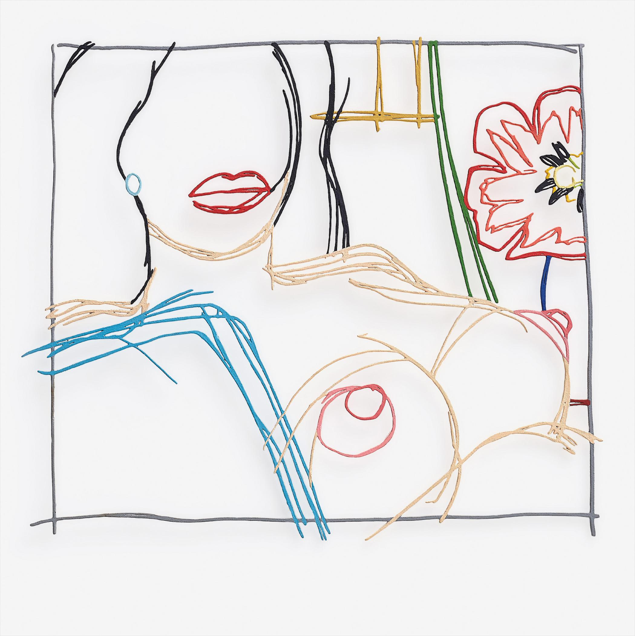 Tom Wesselmann-From Nude Painting Print-1991