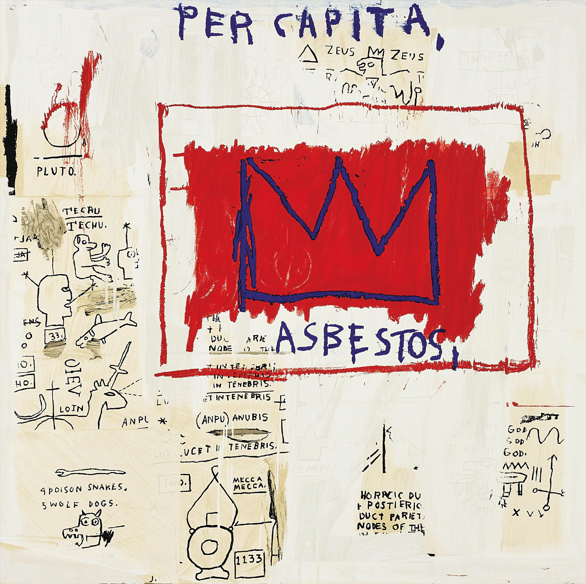 Jean-Michel Basquiat-After Jean-Michel Basquiat - Per Capita, From Portfolio I-2001