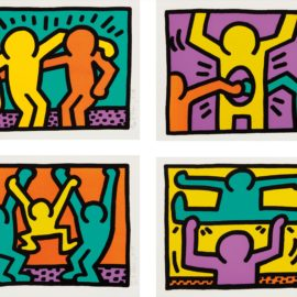 Keith Haring-Pop Shop I-1987