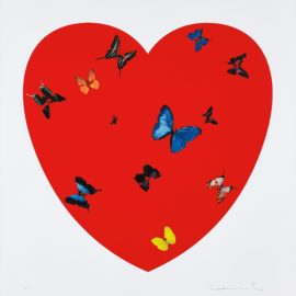 Damien Hirst-All You Need Is Love Love Love-2009