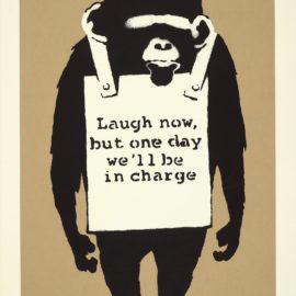 Banksy-Laugh Now-2005