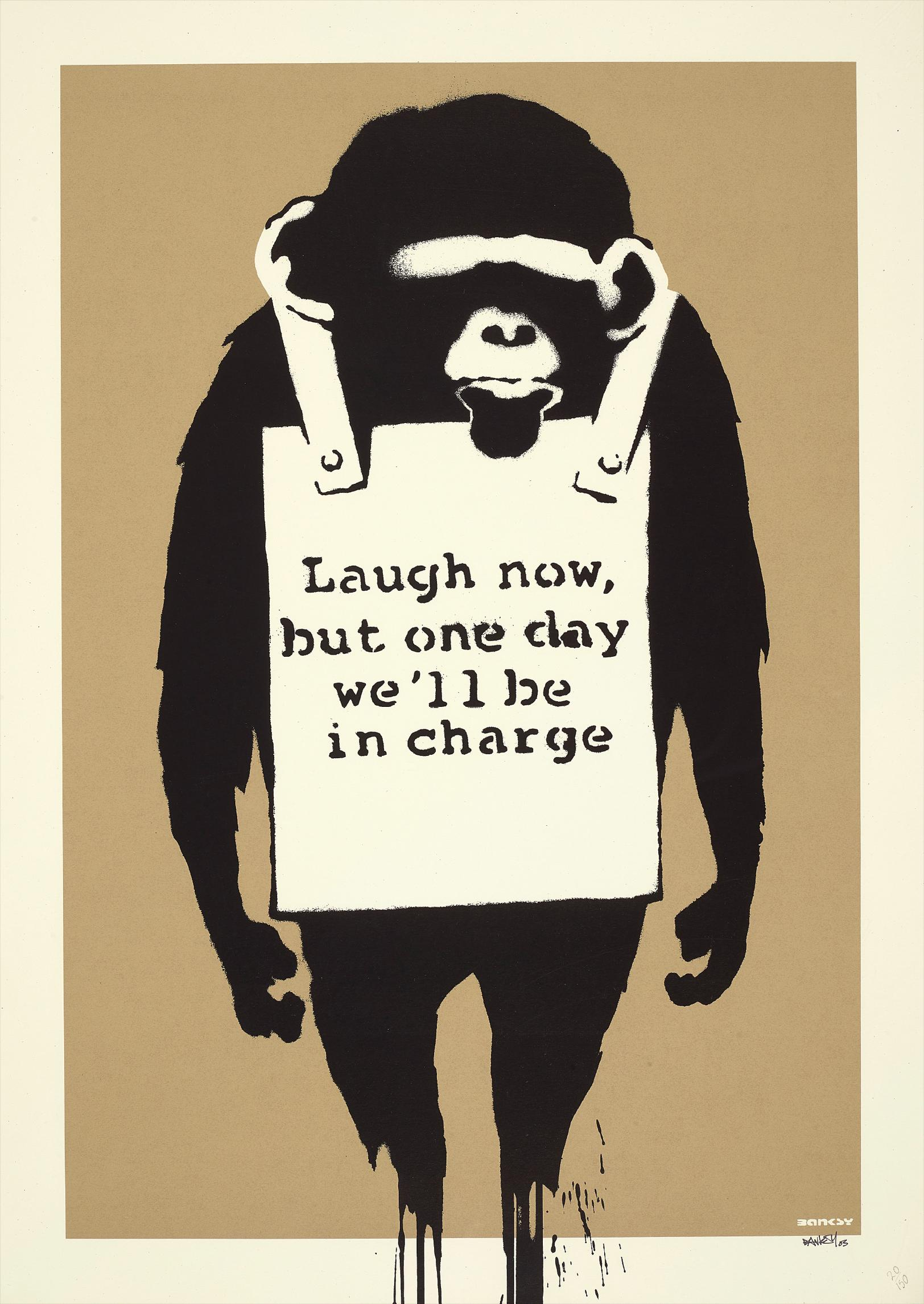 Banksy-Laugh Now-2005