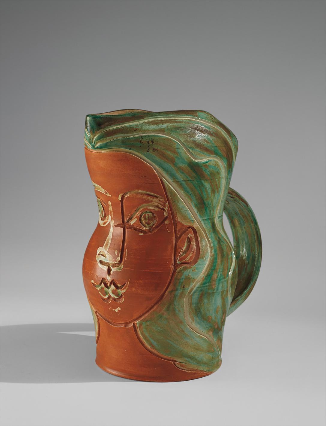 Pablo Picasso-Visage De Femme (Womans Face)-1953