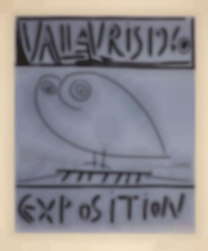 Pablo Picasso-Vallauris Exposition-1960