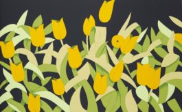 Alex Katz-Yellow Tulips-2014