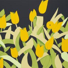 Alex Katz-Yellow Tulips-2014
