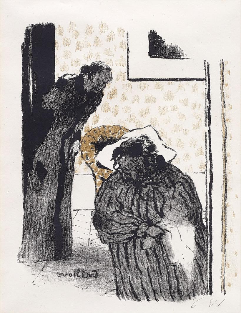 Edouard Vuillard-La Sieste Ou La Convalescence (Siesta Or Convalescence)-1893