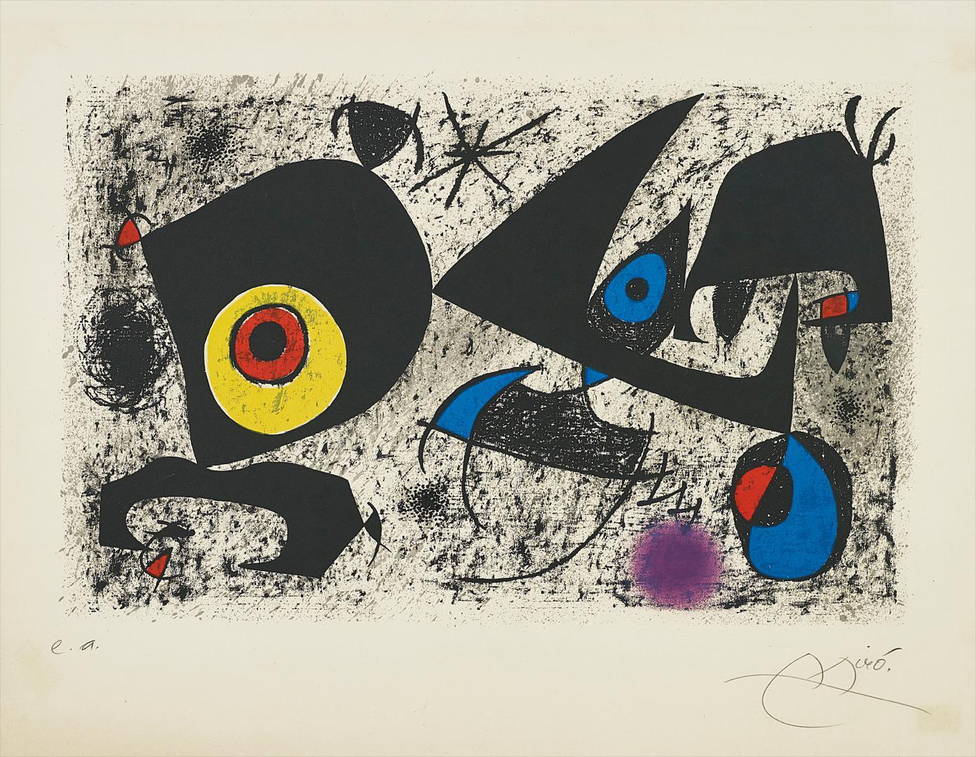 Joan Miro-Hommage A Miro-1972