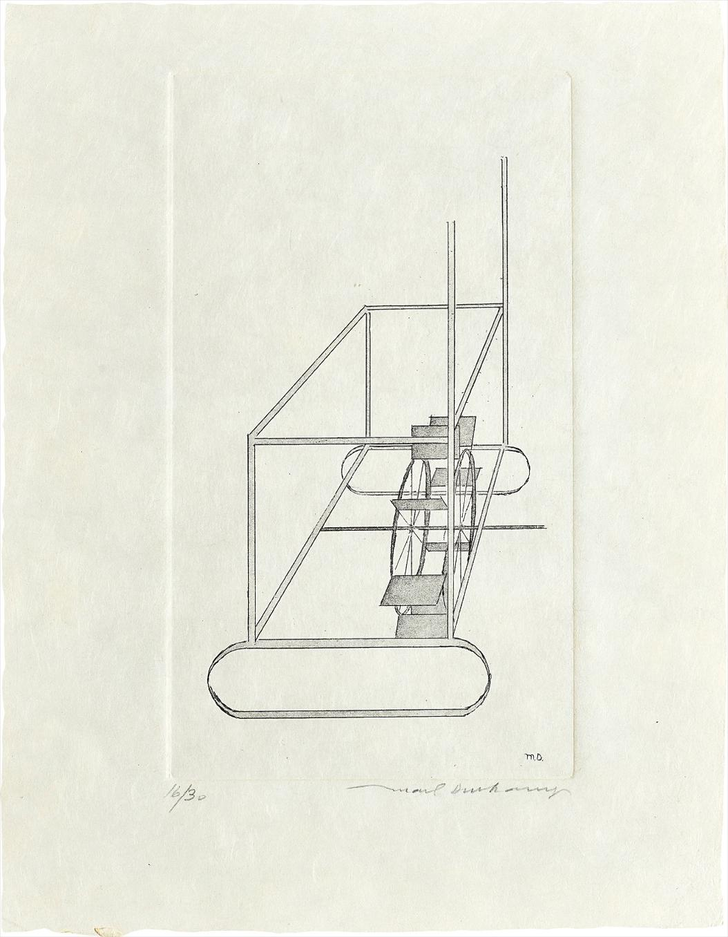 Marcel Duchamp-The Water Mill-1967
