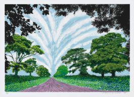 David Hockney-Summer Sky-2008