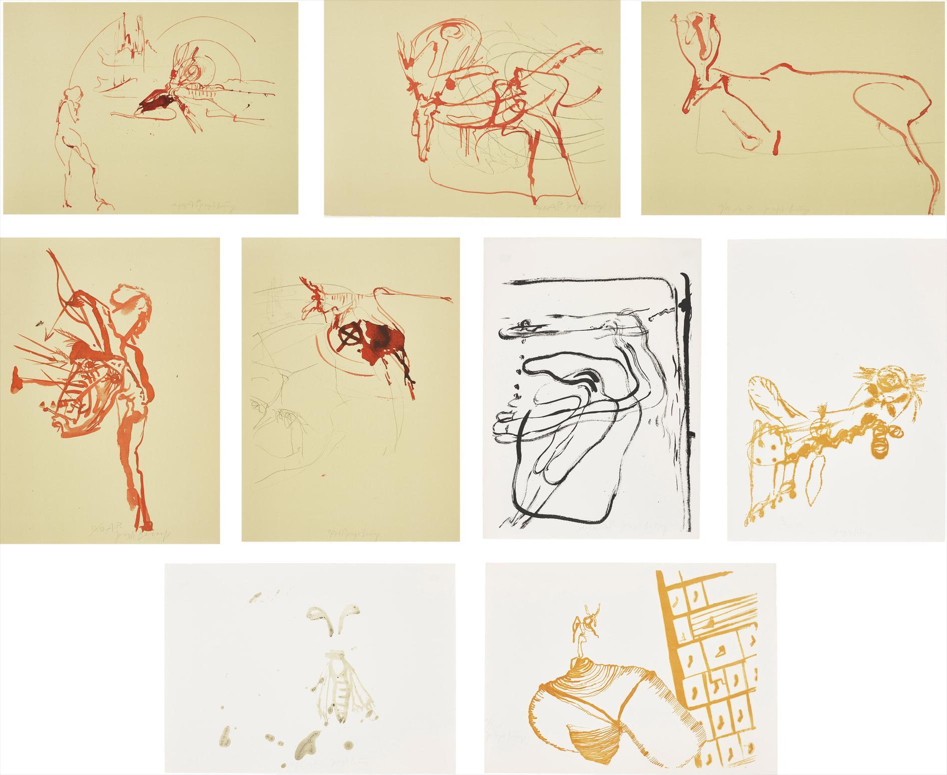 Joseph Beuys-Trace 1-1974
