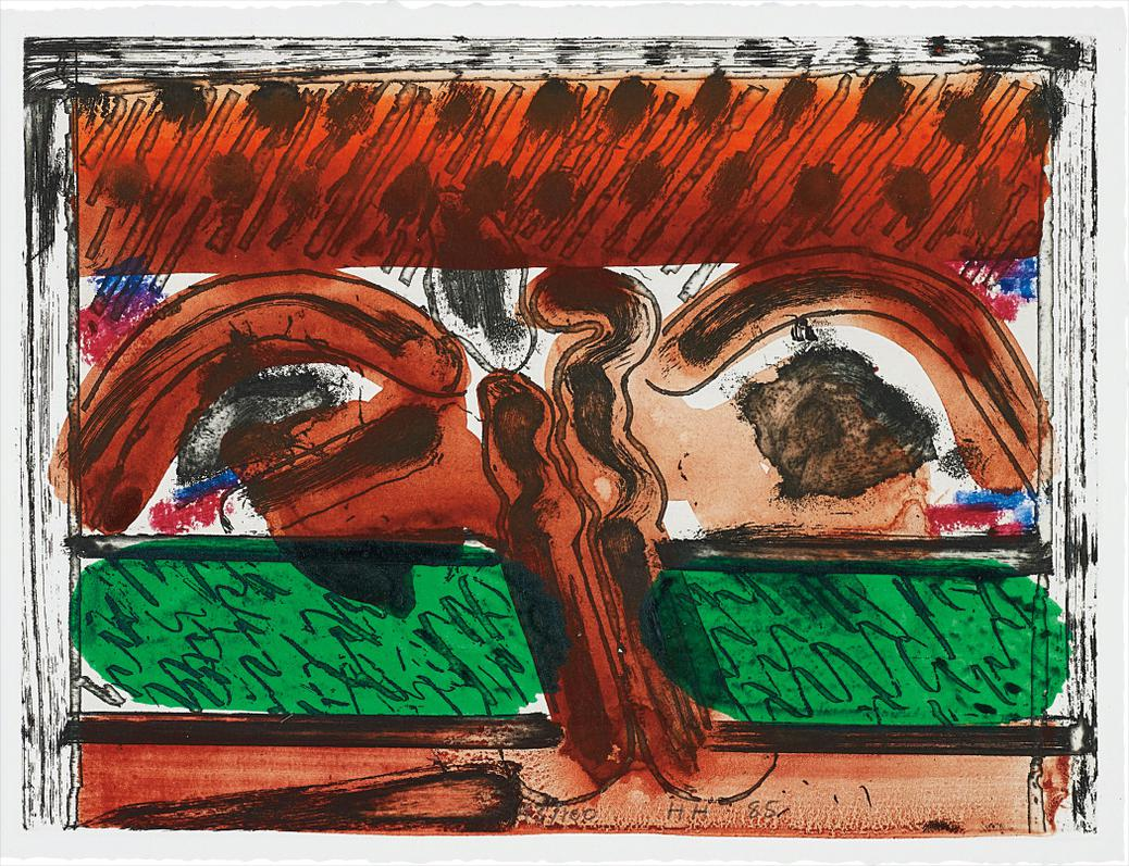 Howard Hodgkin-Dh In Hollywood-1985
