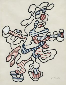 Jean Dubuffet-Personnage IV-1964
