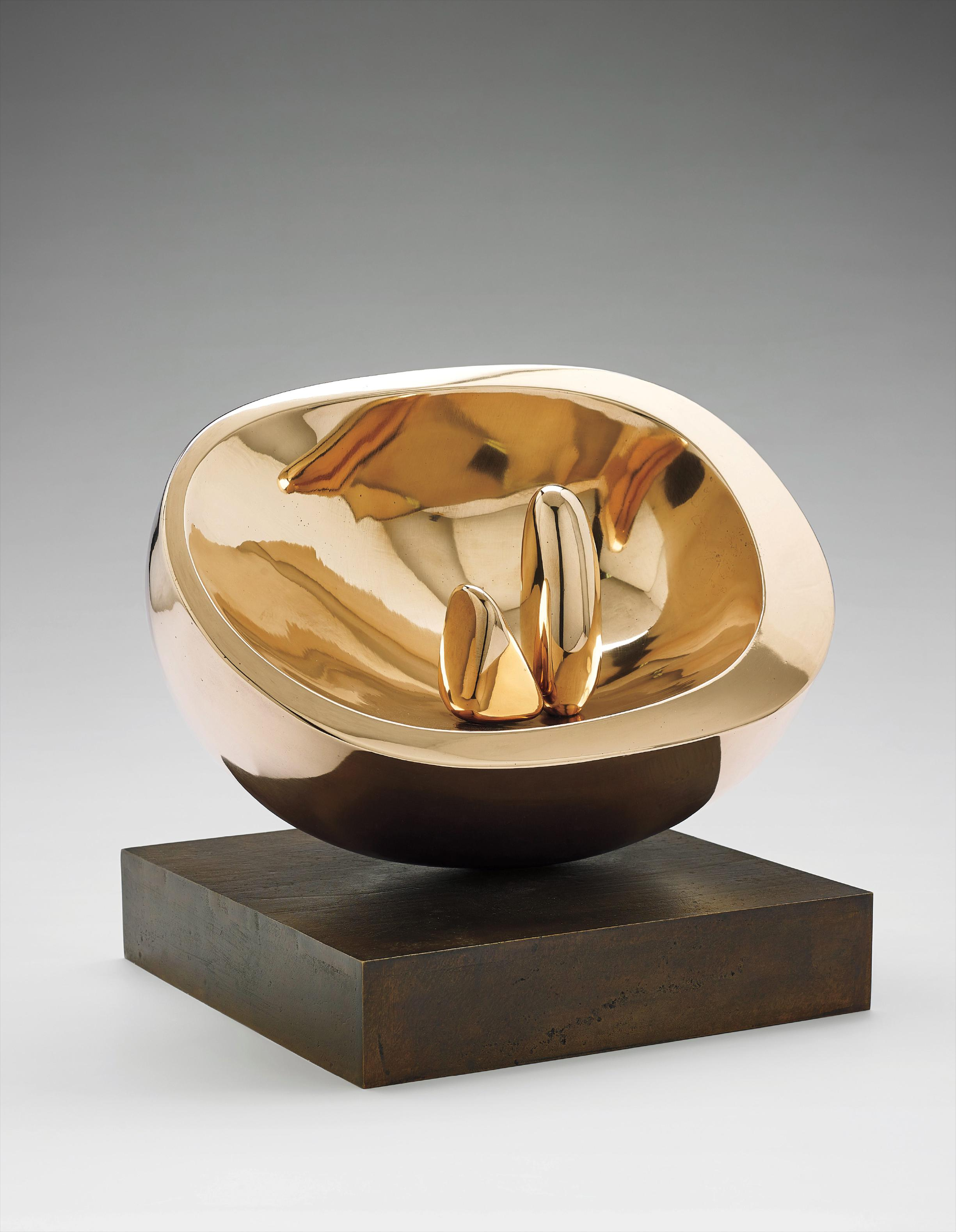 Barbara Hepworth-Oval With Two Forms-1972