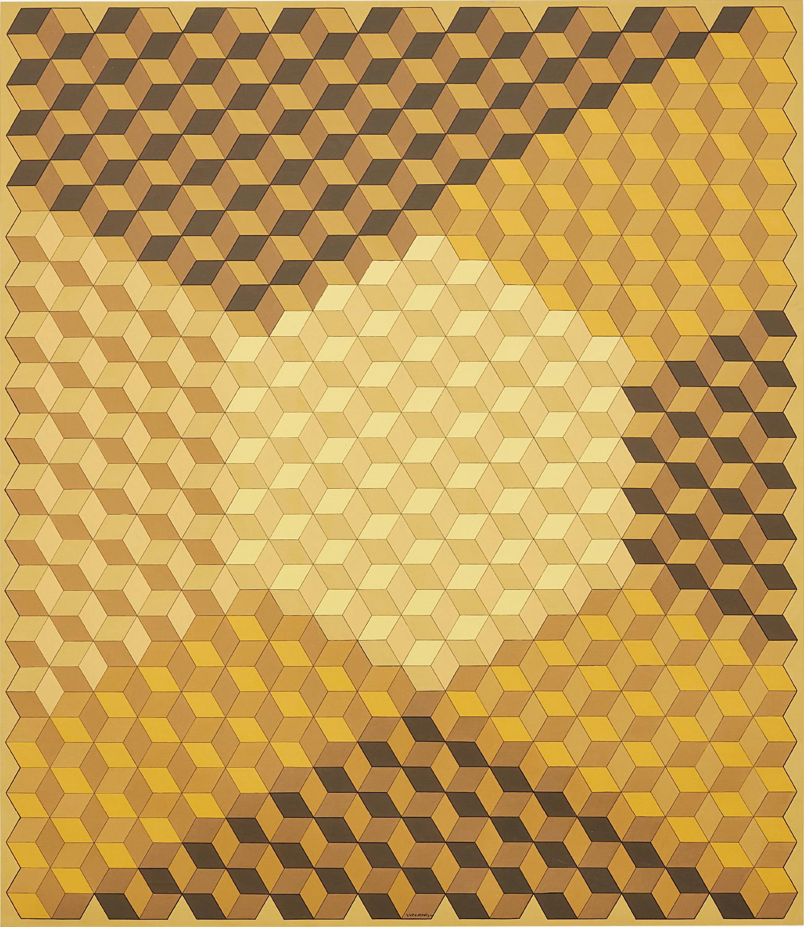 Victor Vasarely-Verseit-1982