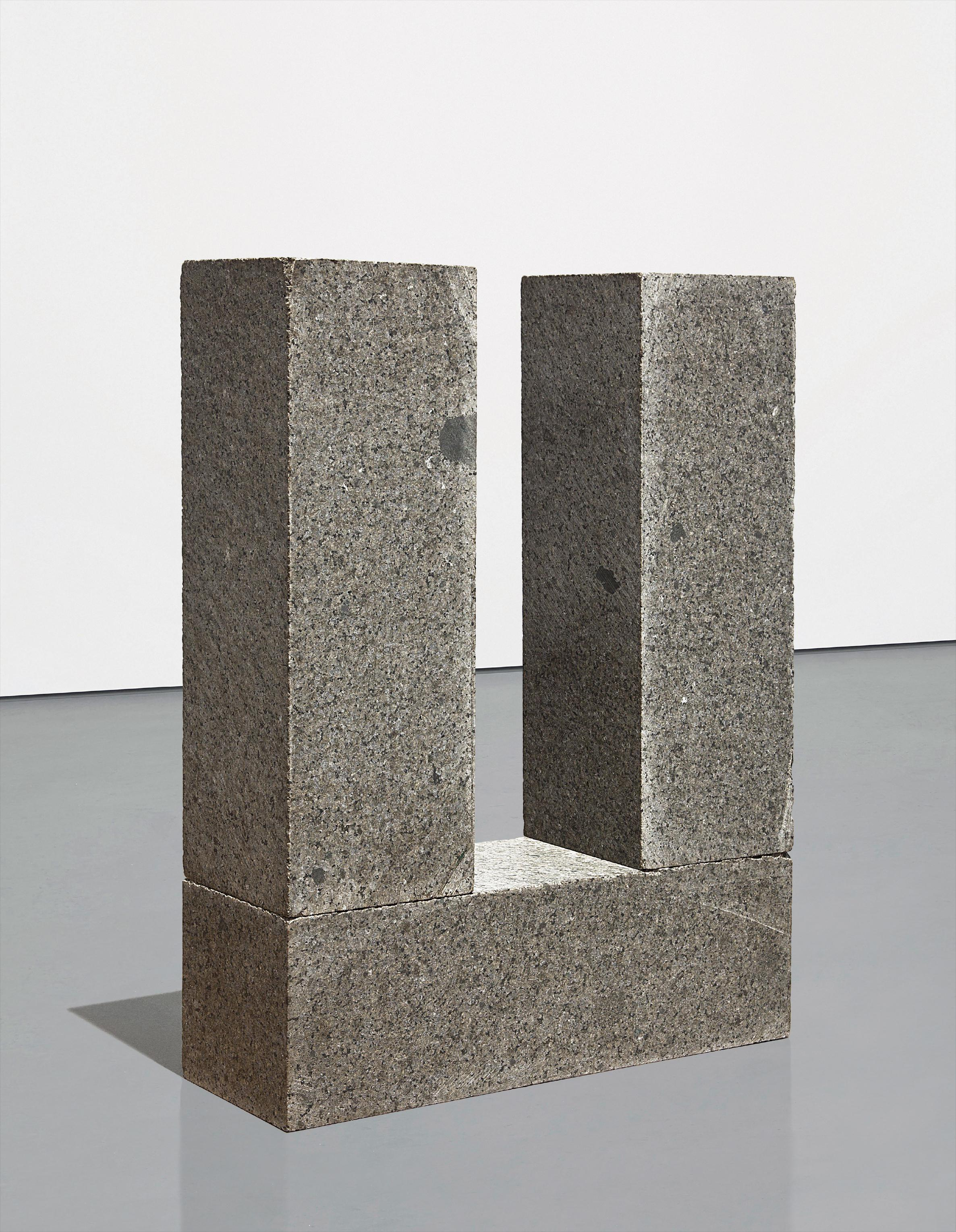 Carl Andre-Manet Post And Threshold-1980