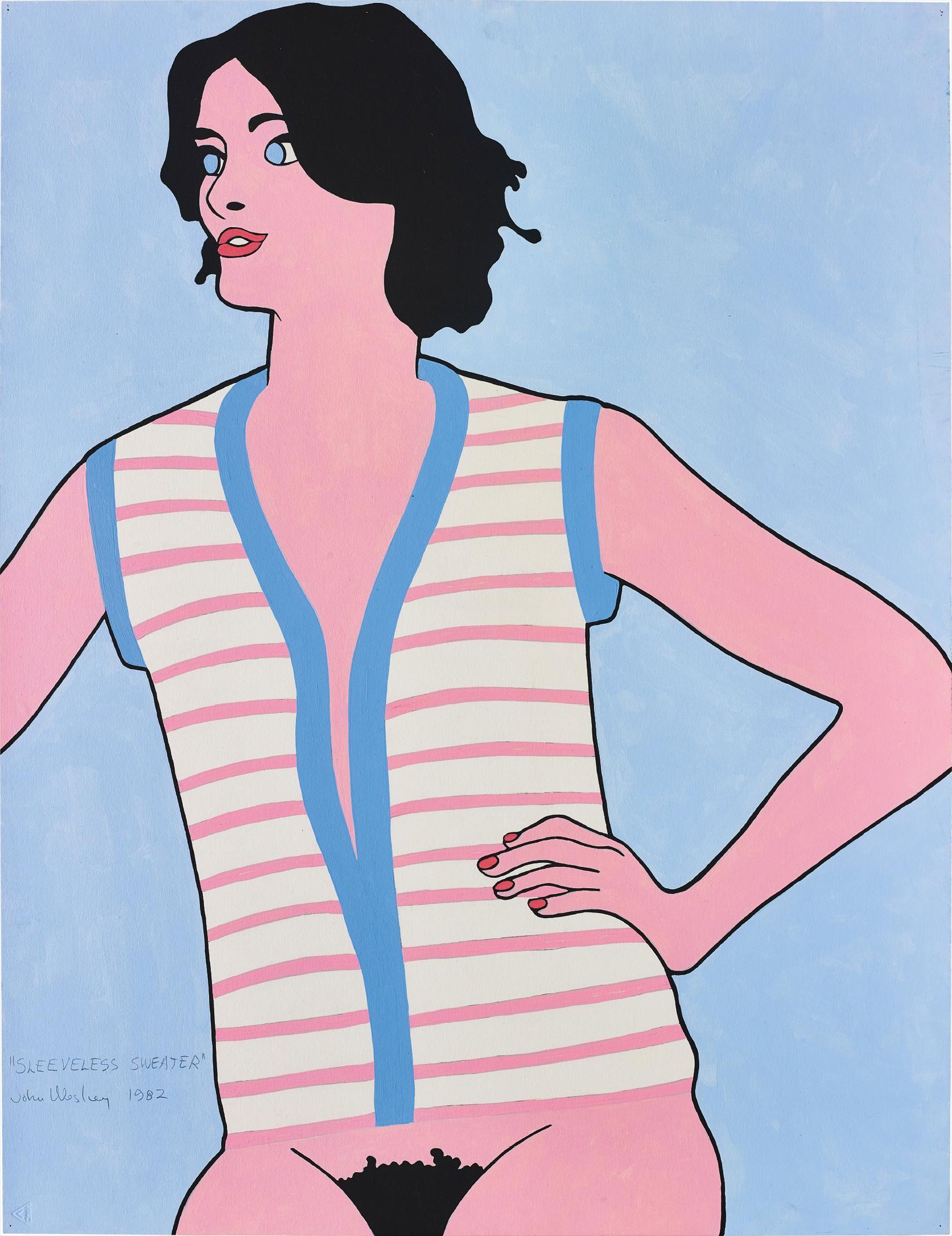John Wesley-Sleeveless Sweater-1982