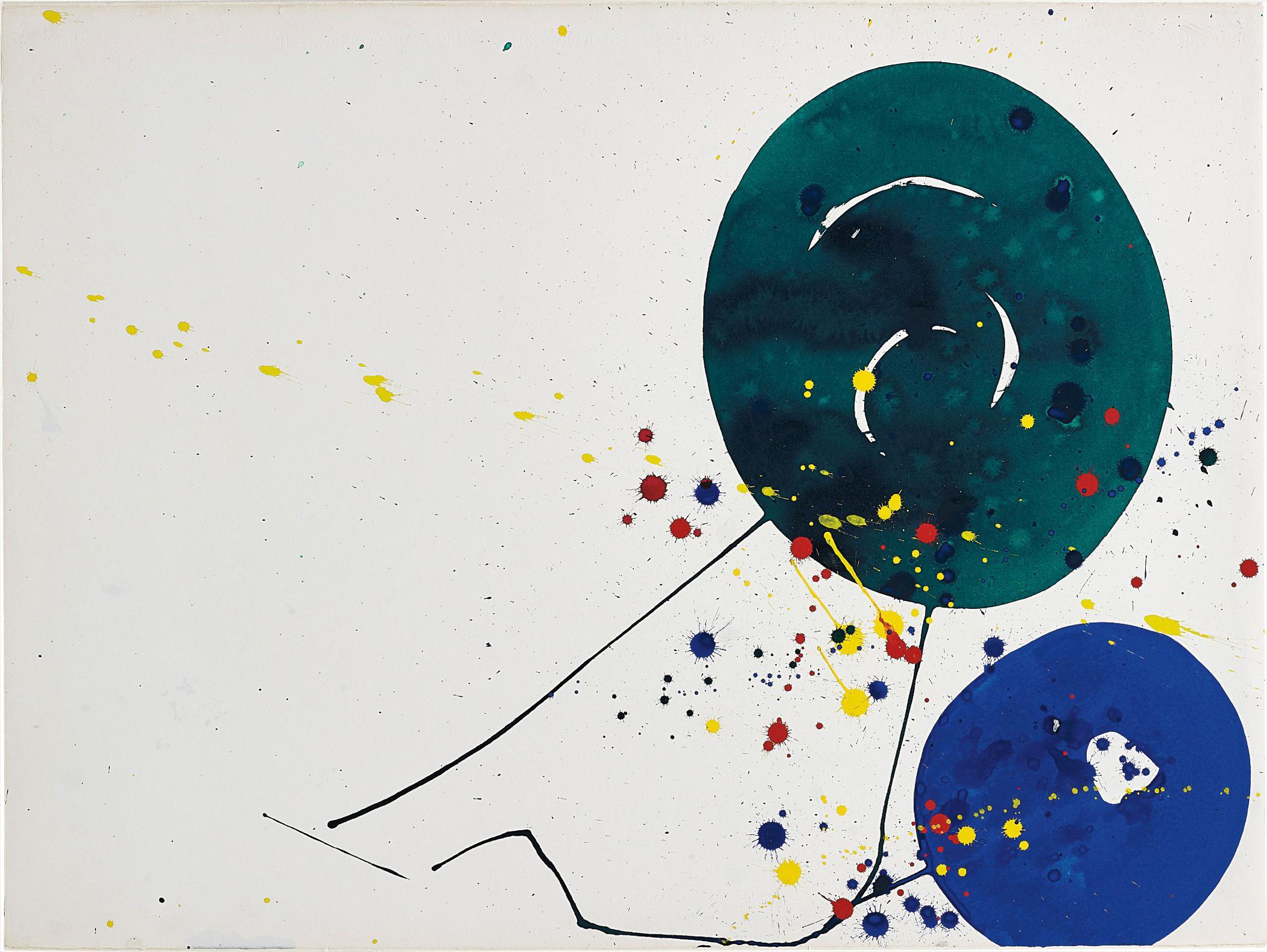 Sam Francis-Untitled (Sf63-050)-1963