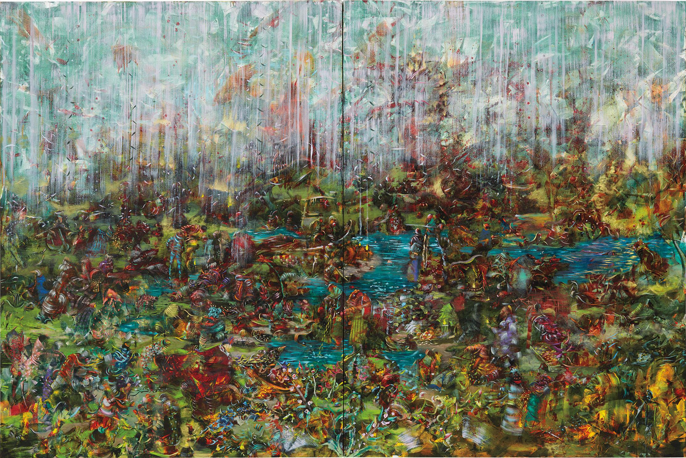 Ali Banisadr-It Happened And It Never Did-2011