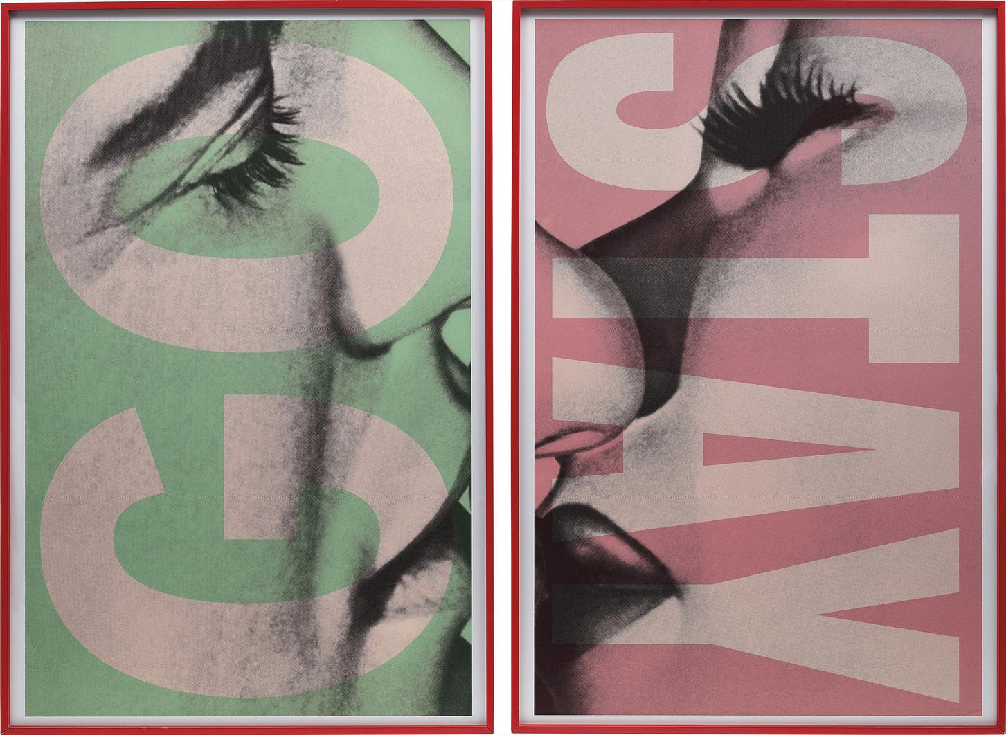 Barbara Kruger-Stay/Go-2007