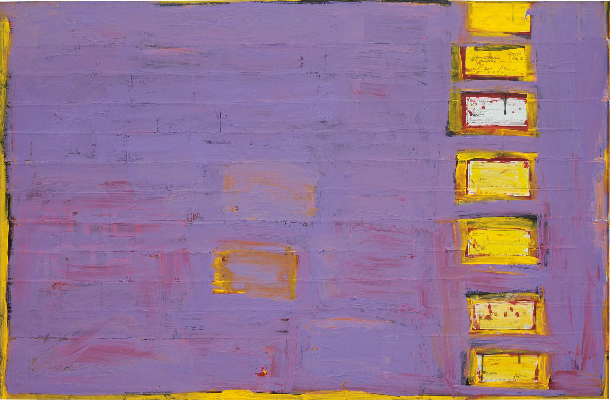 Richard Prince-Untitled (Check Painting) #18-2004
