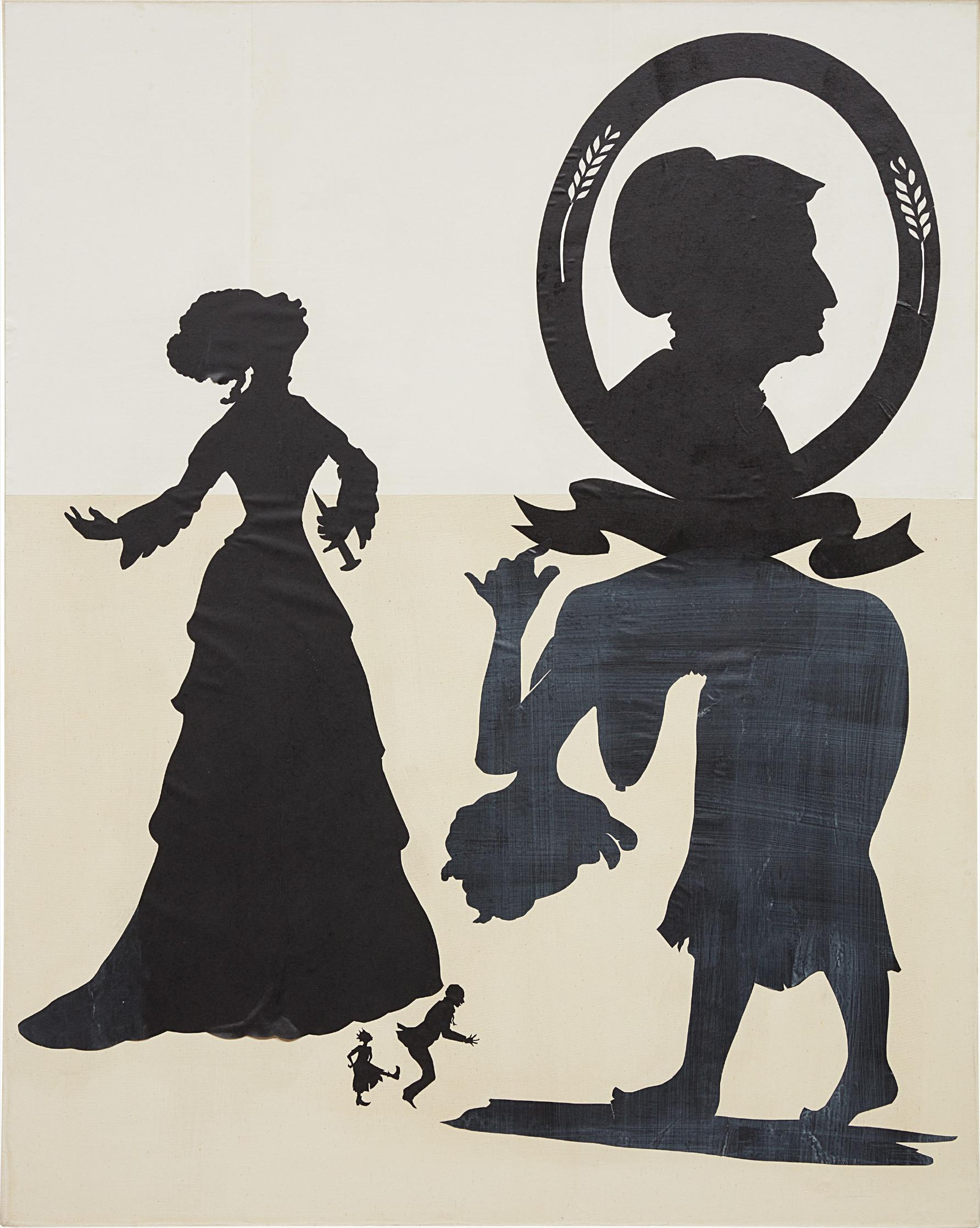 Kara Walker-O! The Pathos Of Black Womanhood-1994