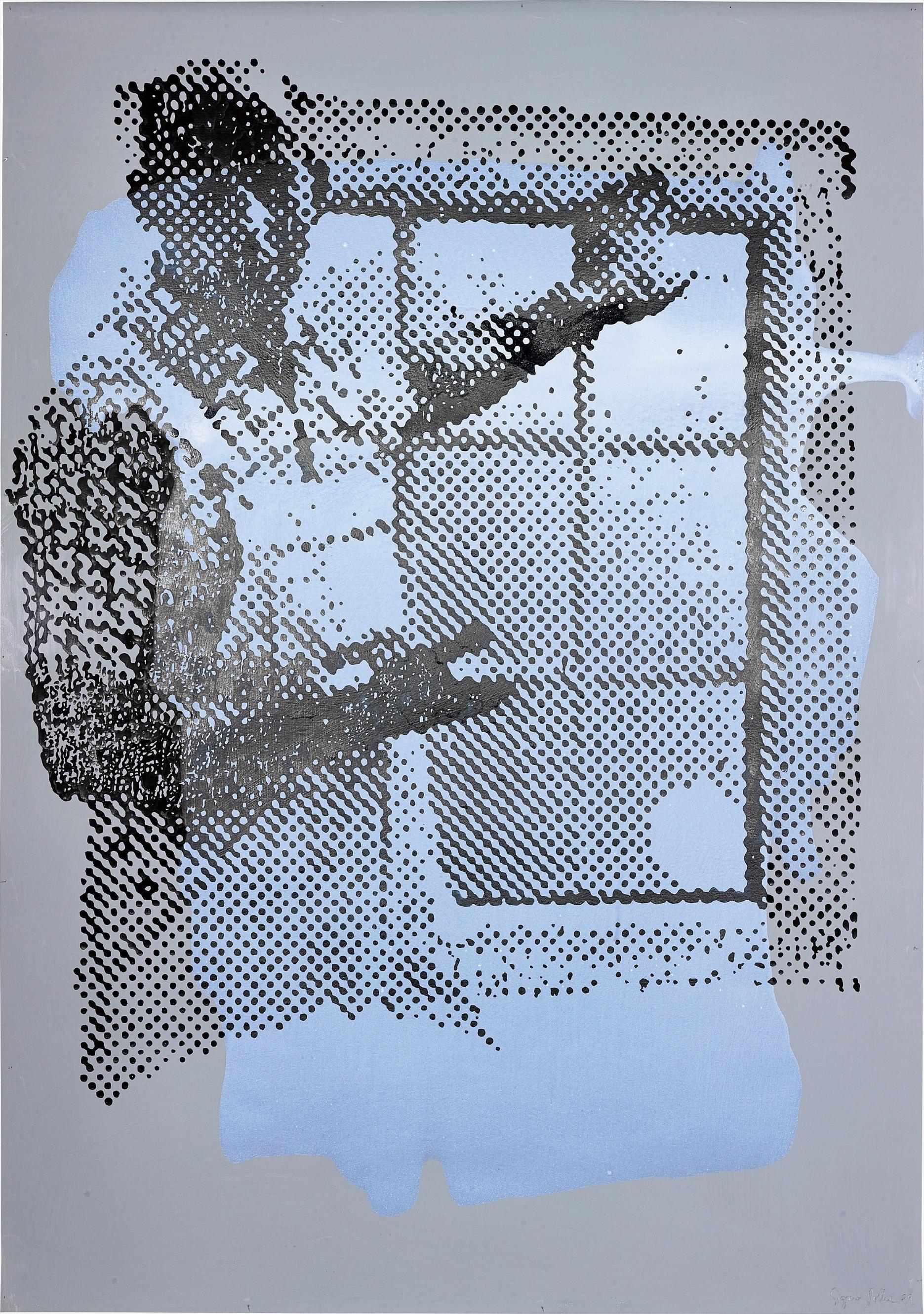 Sigmar Polke-Ohne Titel (Fenster)-1999