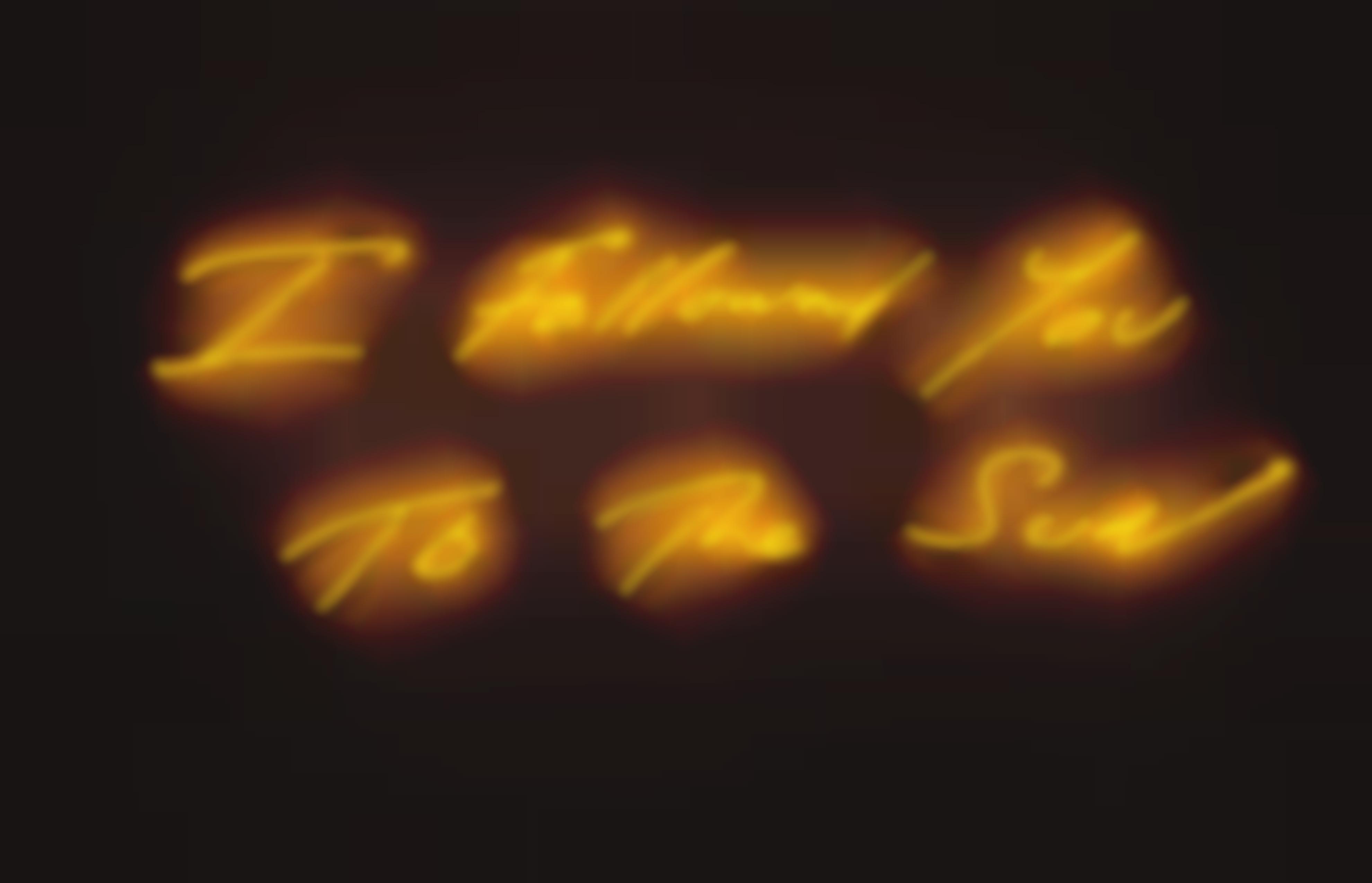 Tracey Emin-I Followed You To The Sun-2013