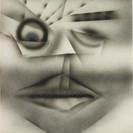 Jim Shaw-Pencil Mustach-2012