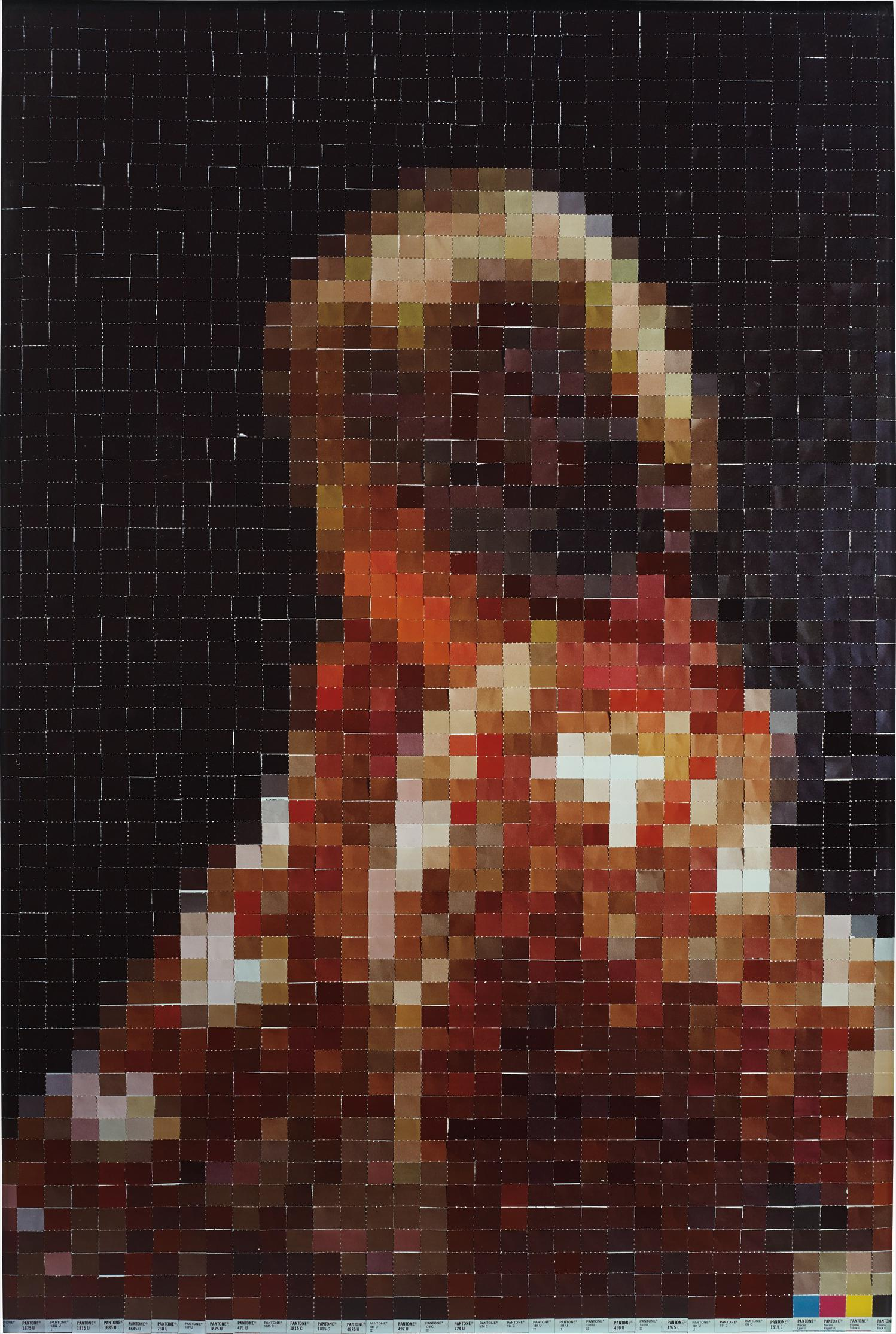 Vik Muniz-After Gerhard Richter (From Pictures Of Colour)-2001