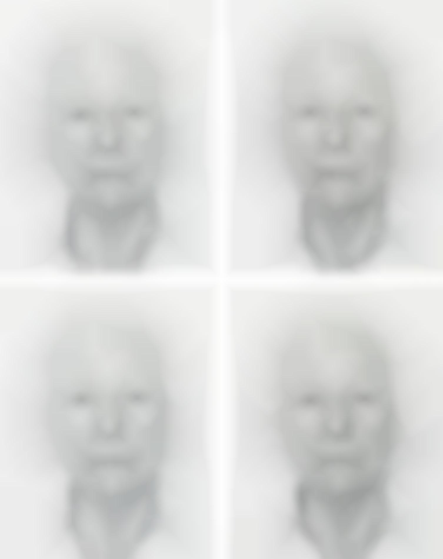Roman Opalka-Four Works: (I) Opalka 1965 / 1-∞ Detail 5345992; (II) Opalka 1965 / 1-∞ Detail 5349357; (III) Opalka 1965 / 1-∞ Detail 5359224; (IV) Opalka 1965 / 1-∞ Detail 5359987-1965