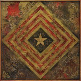 Shepard Fairey-Power & Glory Flag 1-2014