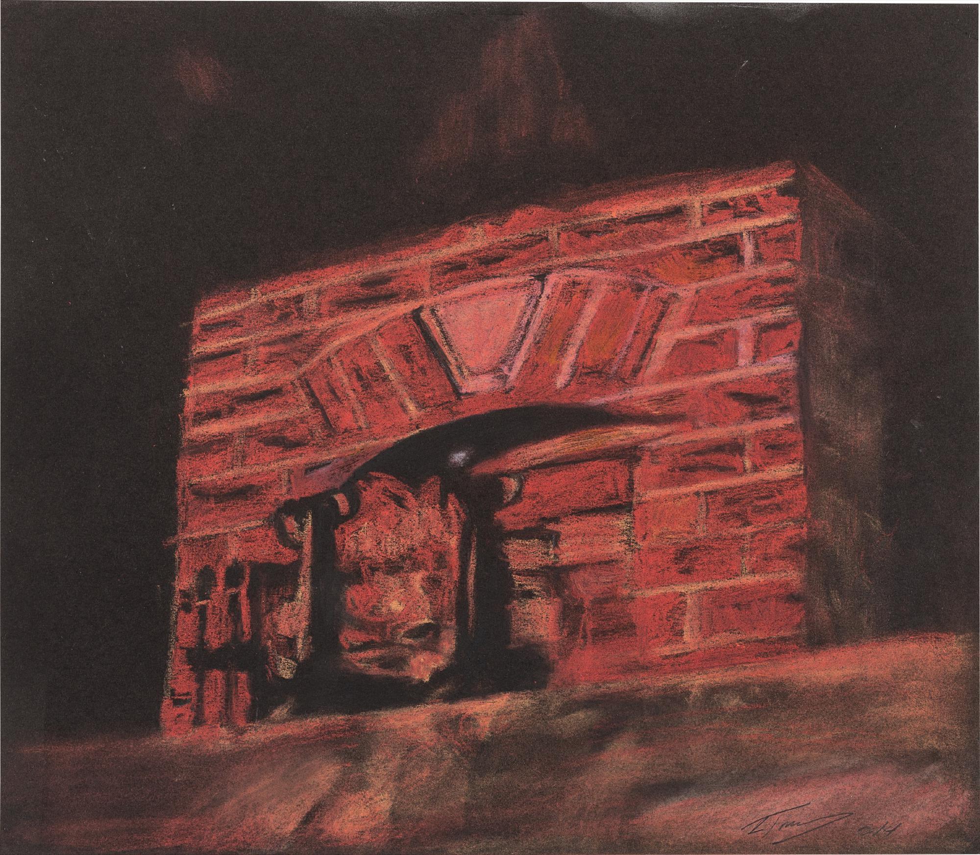 Luc Tuymans-Fireplace-2014