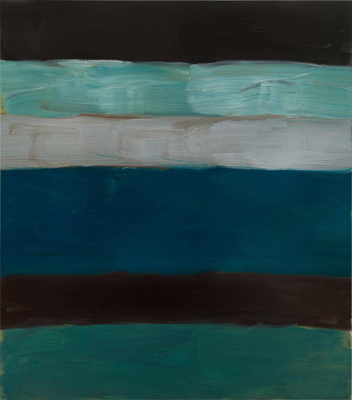 Sean Scully-Landline Green Sea-2014