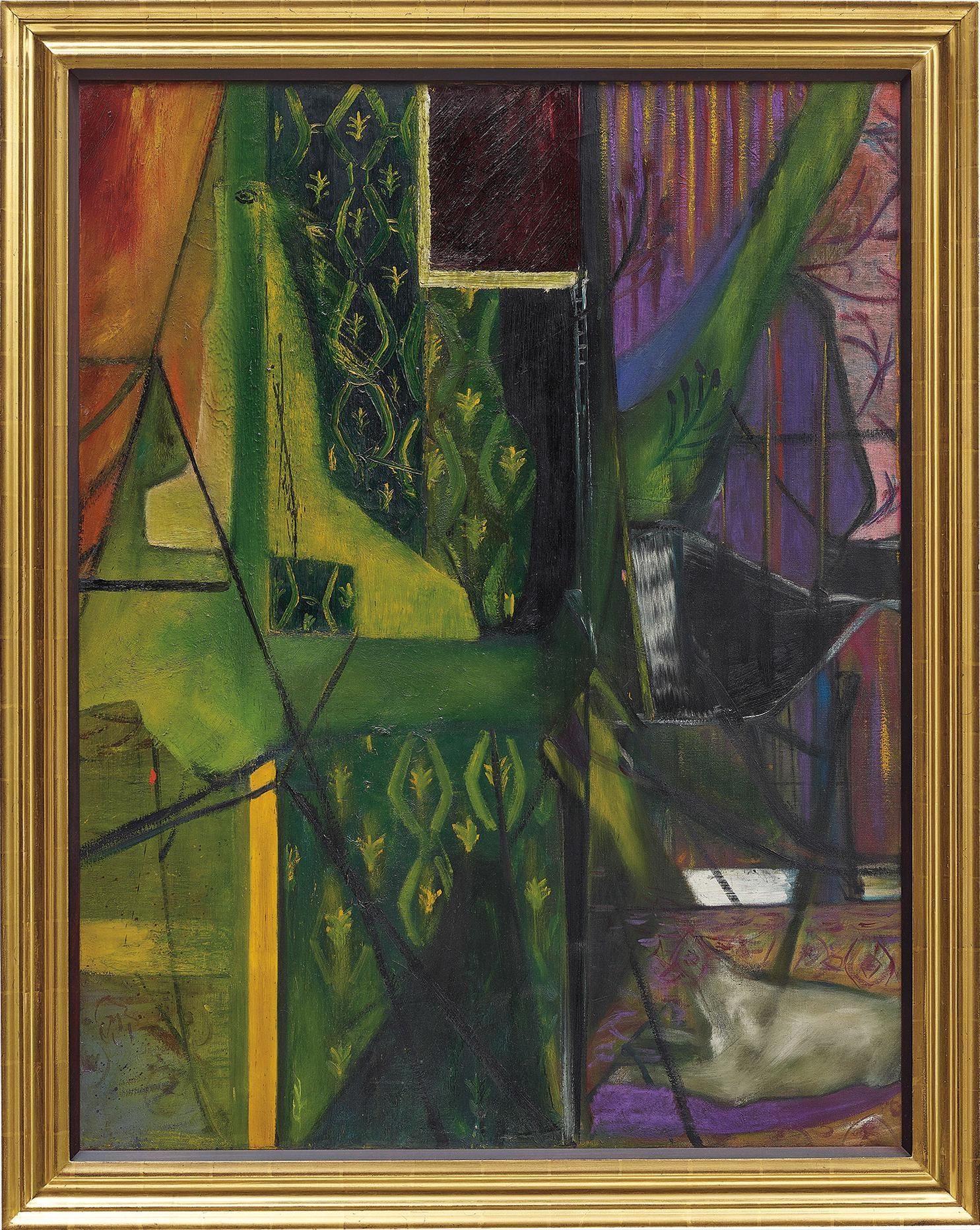 Francis Bacon-Interior Of A Room-1935