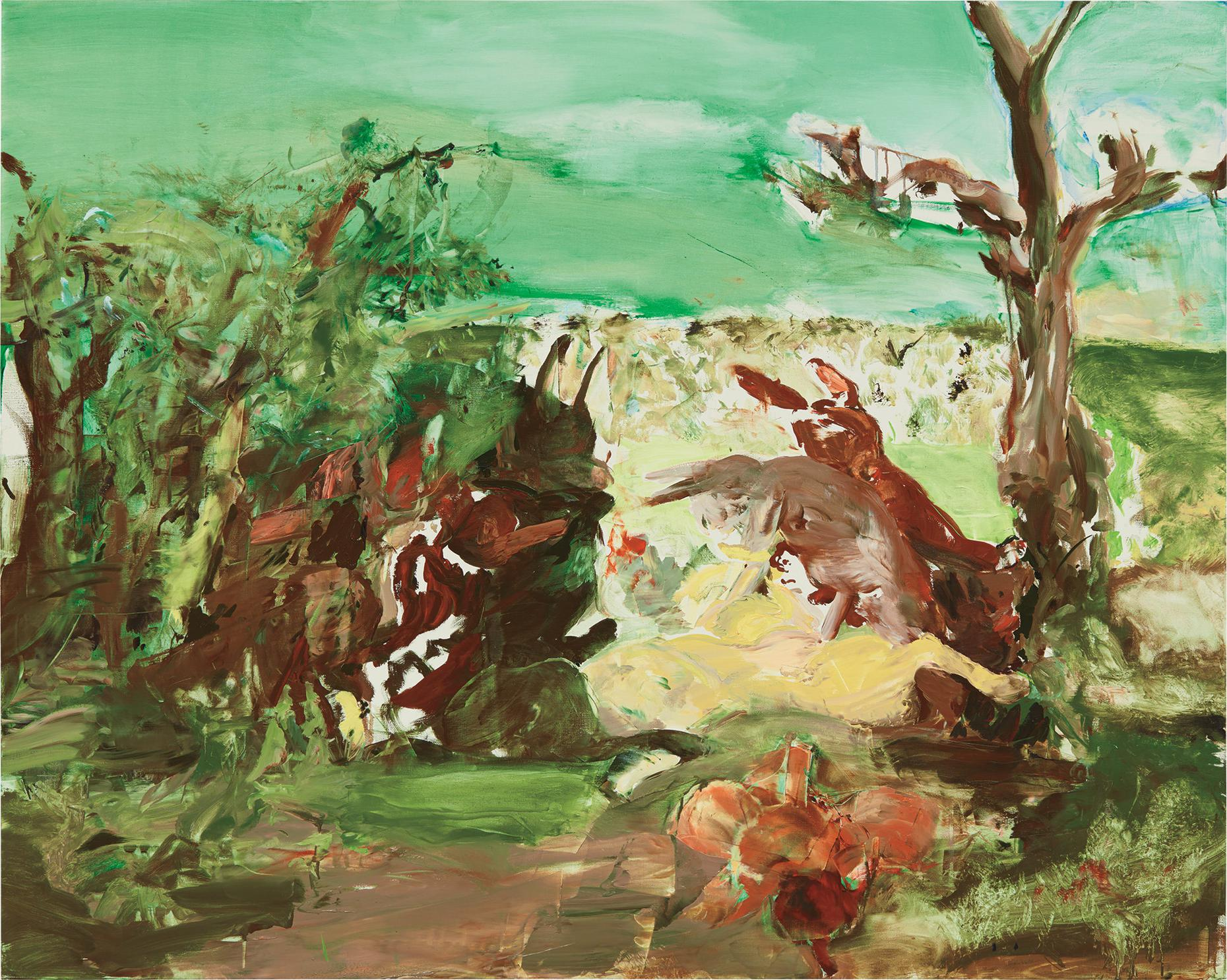 Cecily Brown-The Quick One-2002