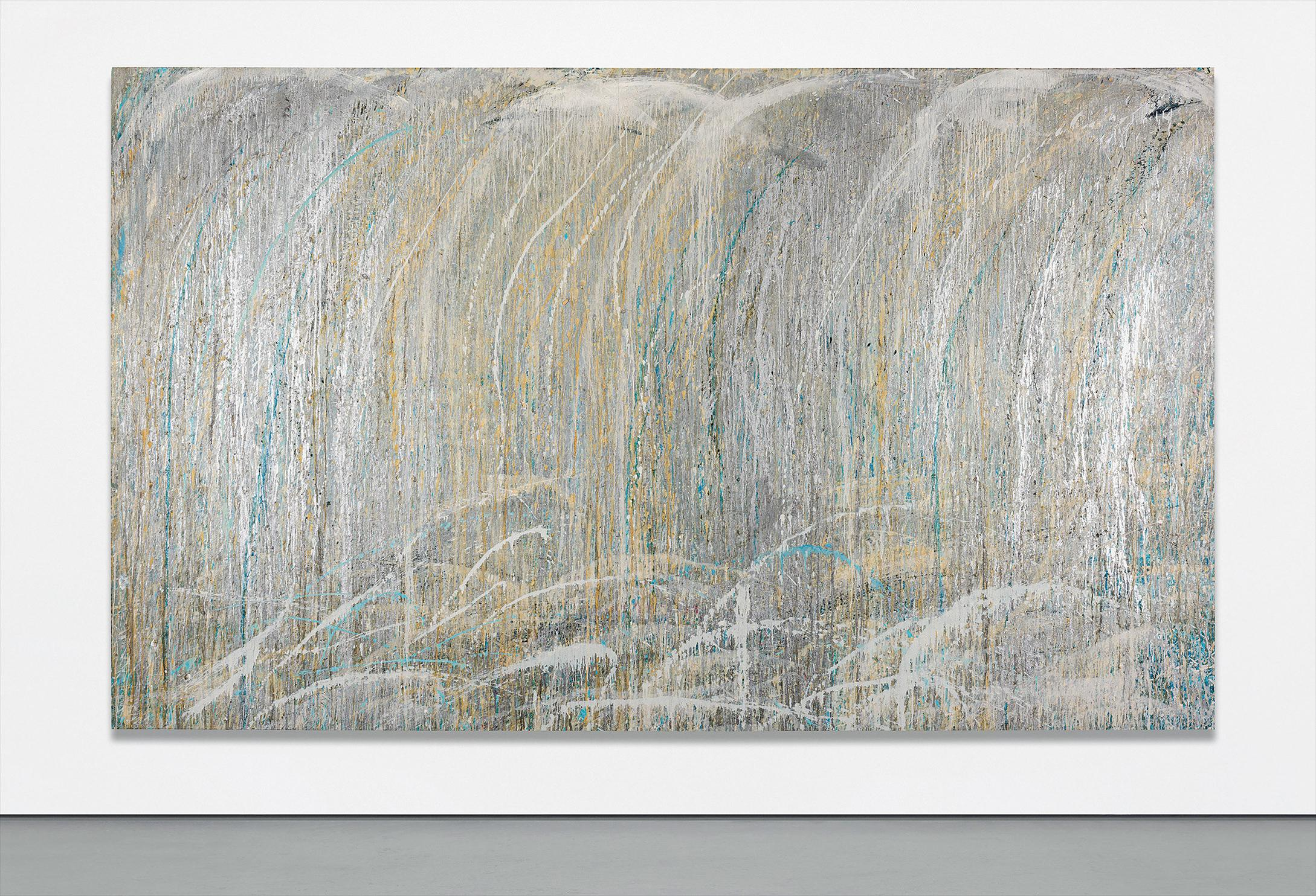 Pat Steir-Calming Waterfall-1989