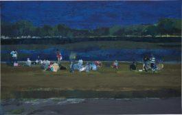 Hurvin Anderson-Untitled (Park Scene)-2000