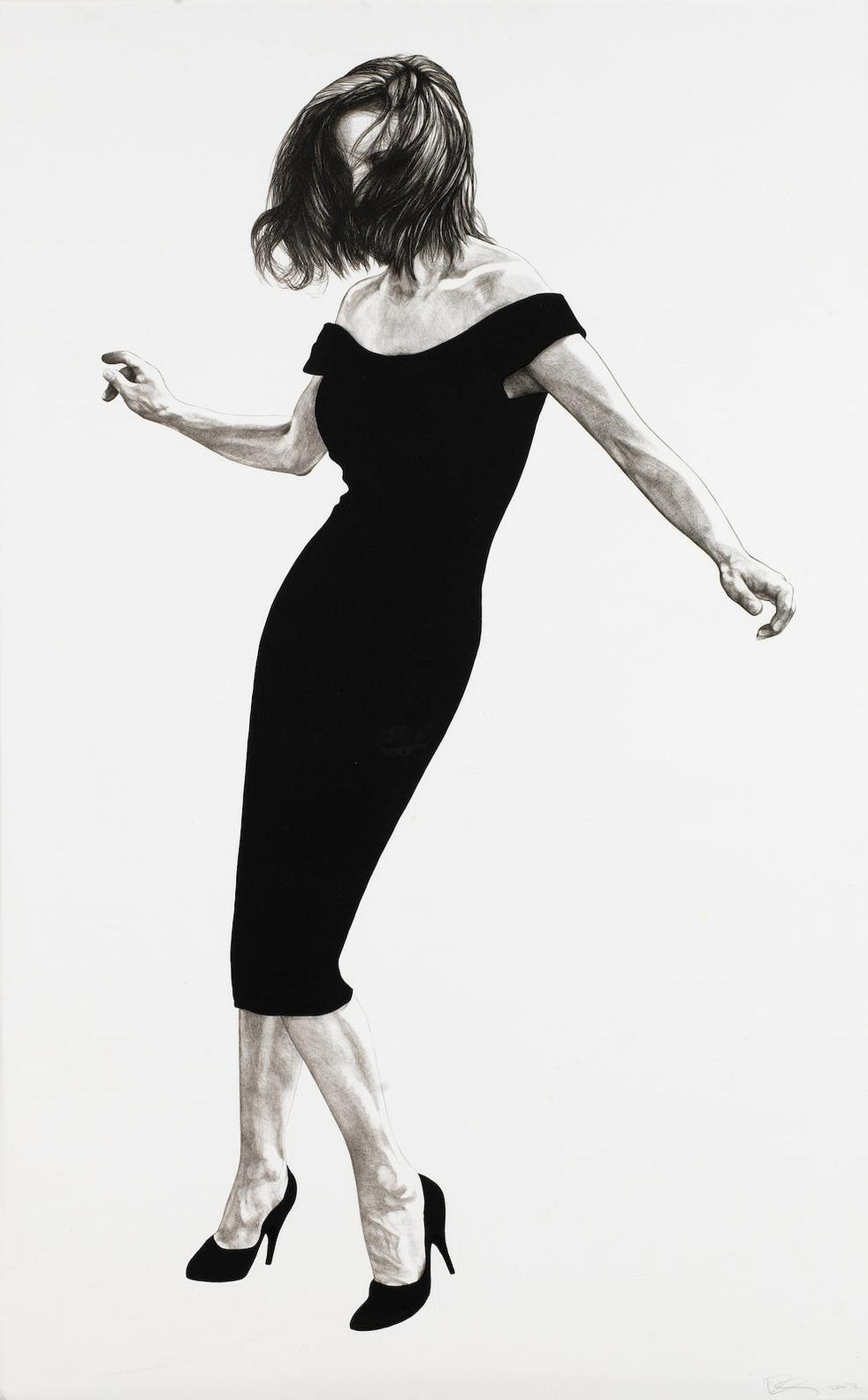 Robert Longo-Men In The Cities: Gretchen-2002