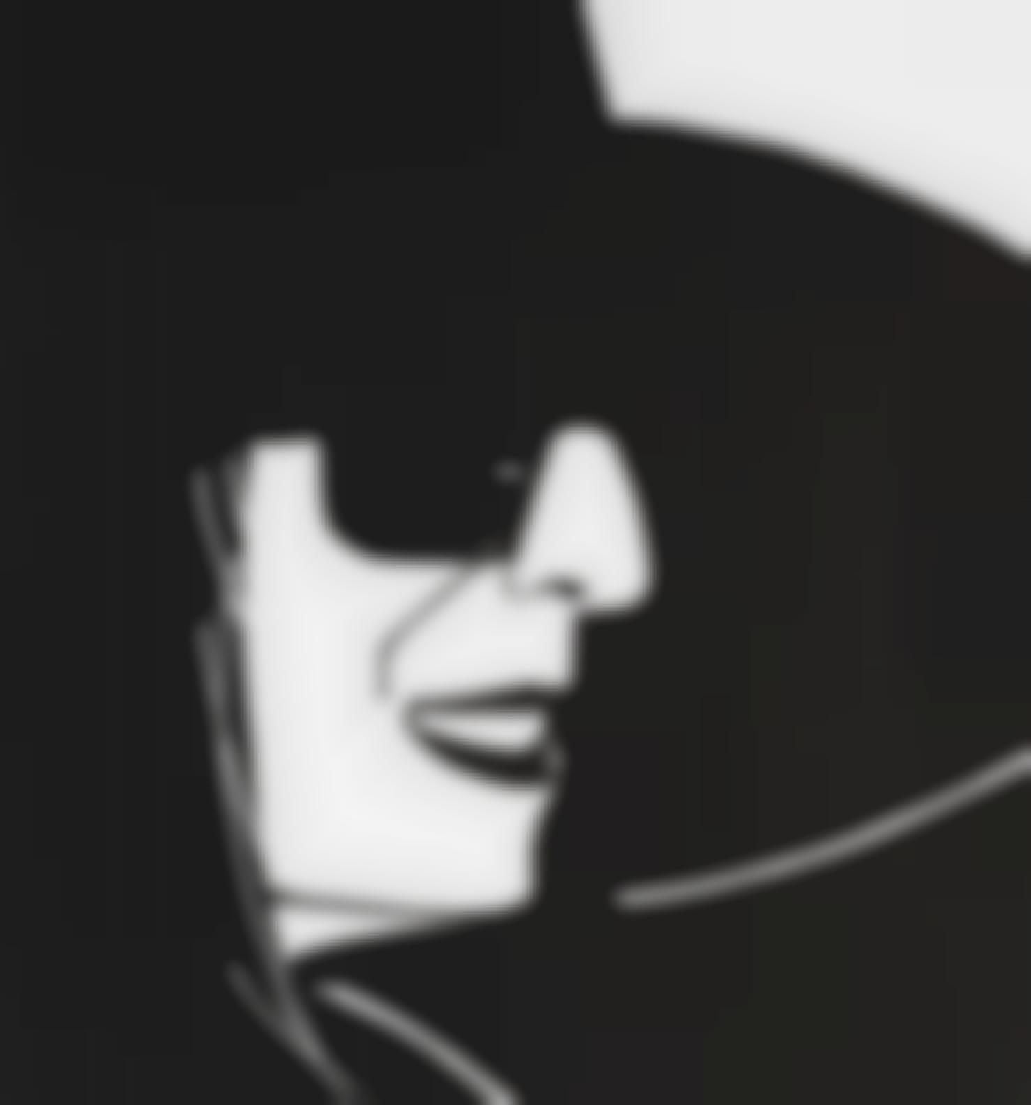 Alex Katz-Black Hat (Ada)-2012